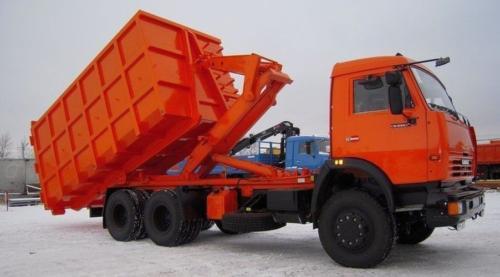 """Универсальный мусоровоз типа """"Мультилифт"""" МАС-2 (на шасси КАМАЗ 53229-15)"""