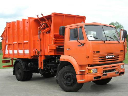 Мусоровоз МКМ-4605 на шасси КАМАЗ