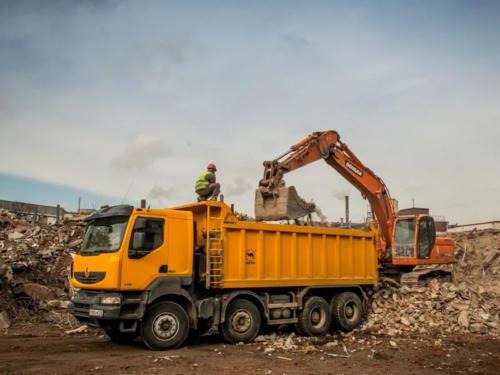 Вывоз строительного мусора в Ростове-на-Дону